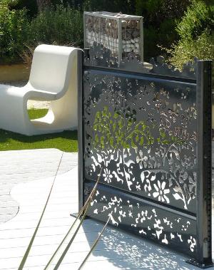 emejing claustra en alu photos. Black Bedroom Furniture Sets. Home Design Ideas