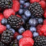 baies berry mûres blackberry bleuets