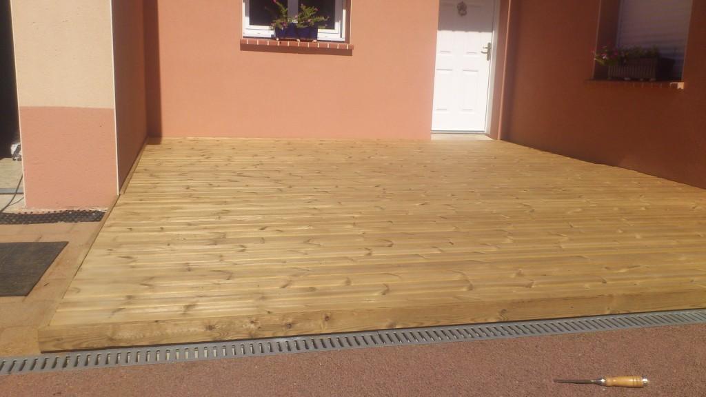 Terrasse bois APRES chantier